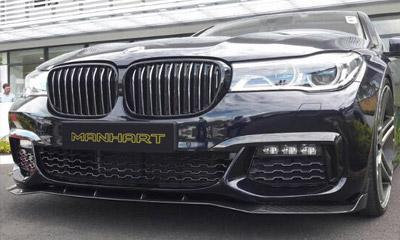 Спойлер переднего бампера (карбон) Manhart для BMW 7-Series G11/G12