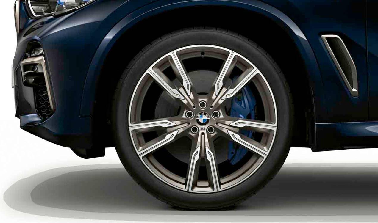 Легкосплавное дисковое колесо (V-образные спицы) 747M для BMW X6 G06