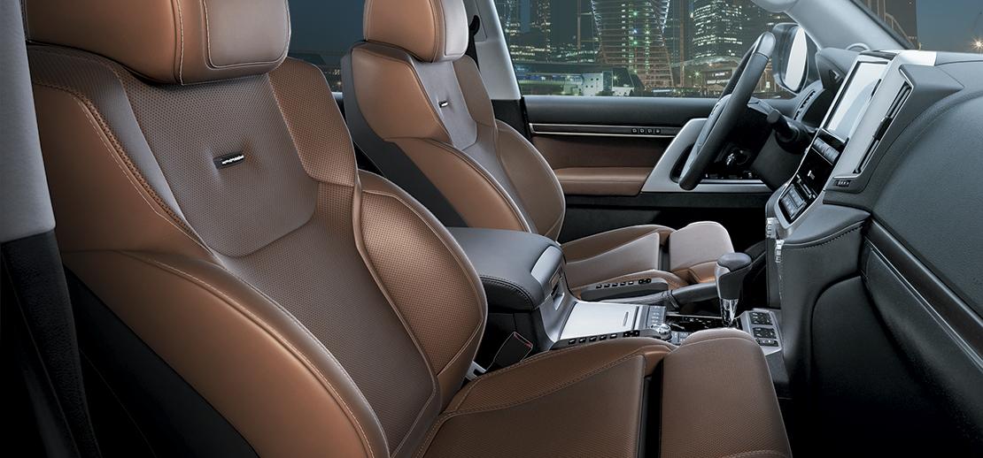 Премиальные сидения Active Smart Seats для Toyota LC200