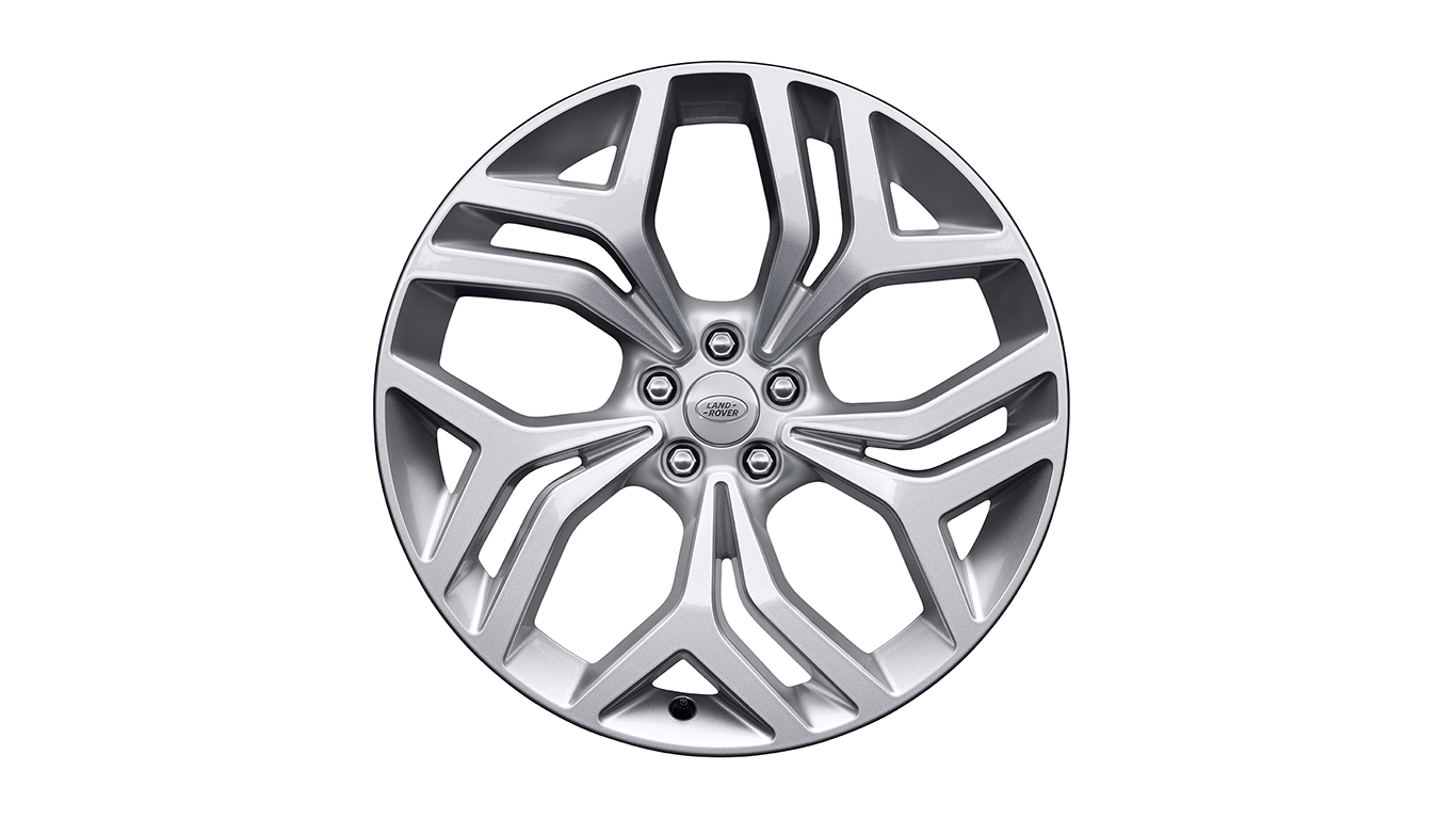 Колесный диск R21 Style 5047 Sparkle Silver для Range Rover Velar