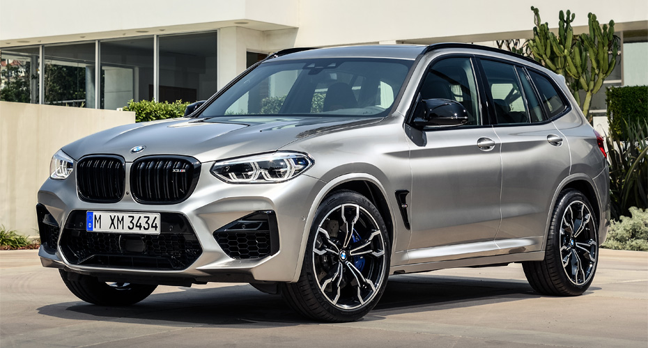 Рестайлинг для BMW X3 G01 в X3M F97