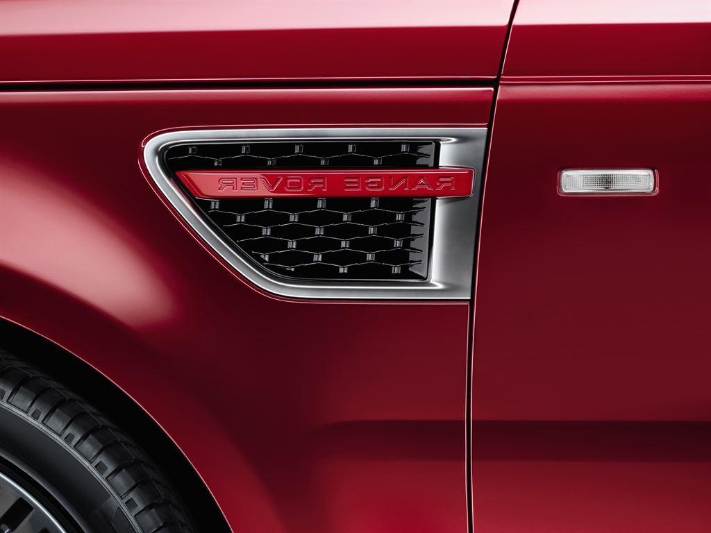 Левая решетка отверстия для впуска воздуха Red для Range Rover Sport 2010-2014