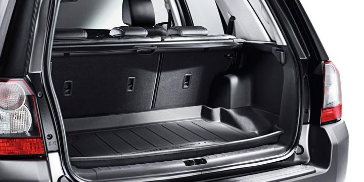 Резиновый ковер багажного отделения с бортом для Land Rover Freelander