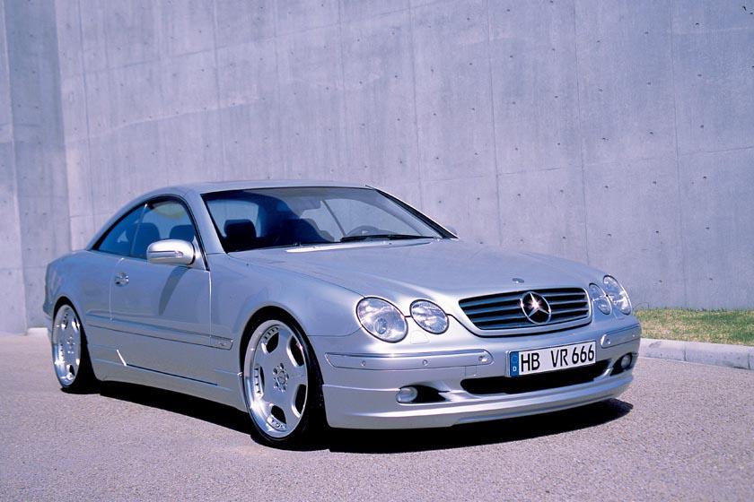 Аэродинамический обвес WALD Executive Line для Mercedes S-class Coupe C215