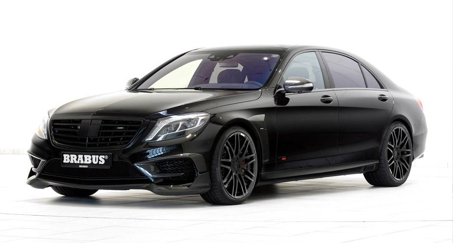 Тюнинг Brabus для Mercedes S63 W222