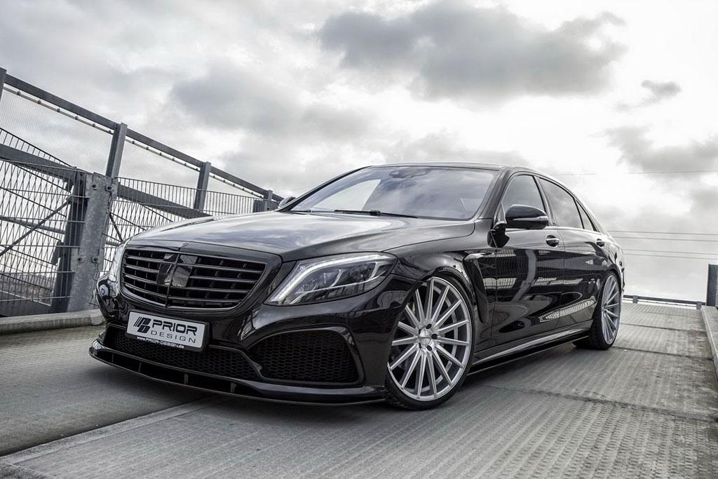 Обвес Prior Design для Mercedes S-class W222