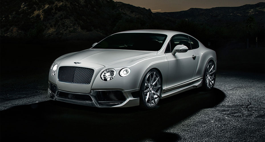 Тюнинг Vorsteiner BR-10RS для Bentley Continental GT II