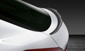 Спойлер на крышку багажника (карбон) M Performance для BMW X6 G06
