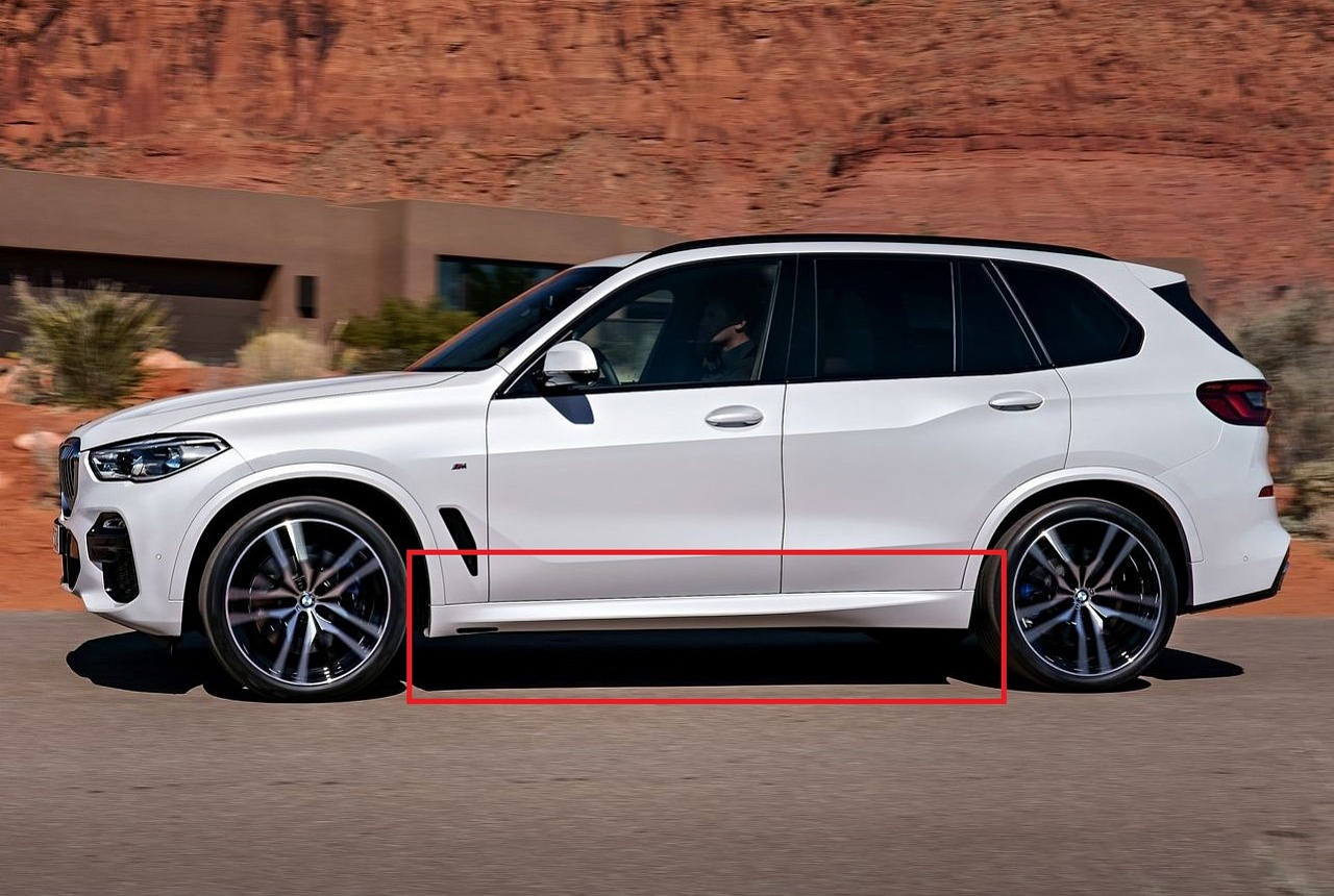 Пороги М-Sport для BMW X5 G05 (код 51142456384)