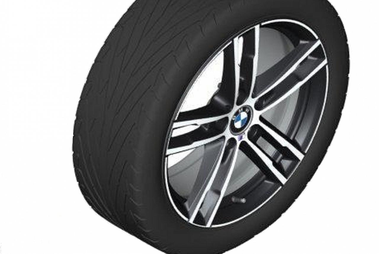 Легкосплавное дисковое колесо (сдвоенные спицы) 719 для BMW 1 Series F20/F21 (код 36118745166)