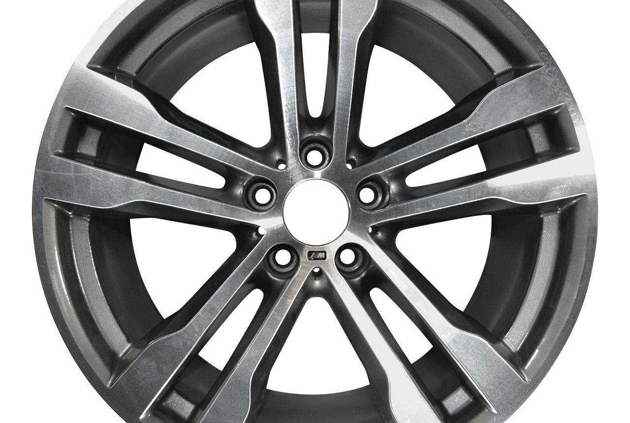 Легкосплавный колесный диск (сдвоенные спицы) 468M для BMW X6 F16 (код 36117846789)
