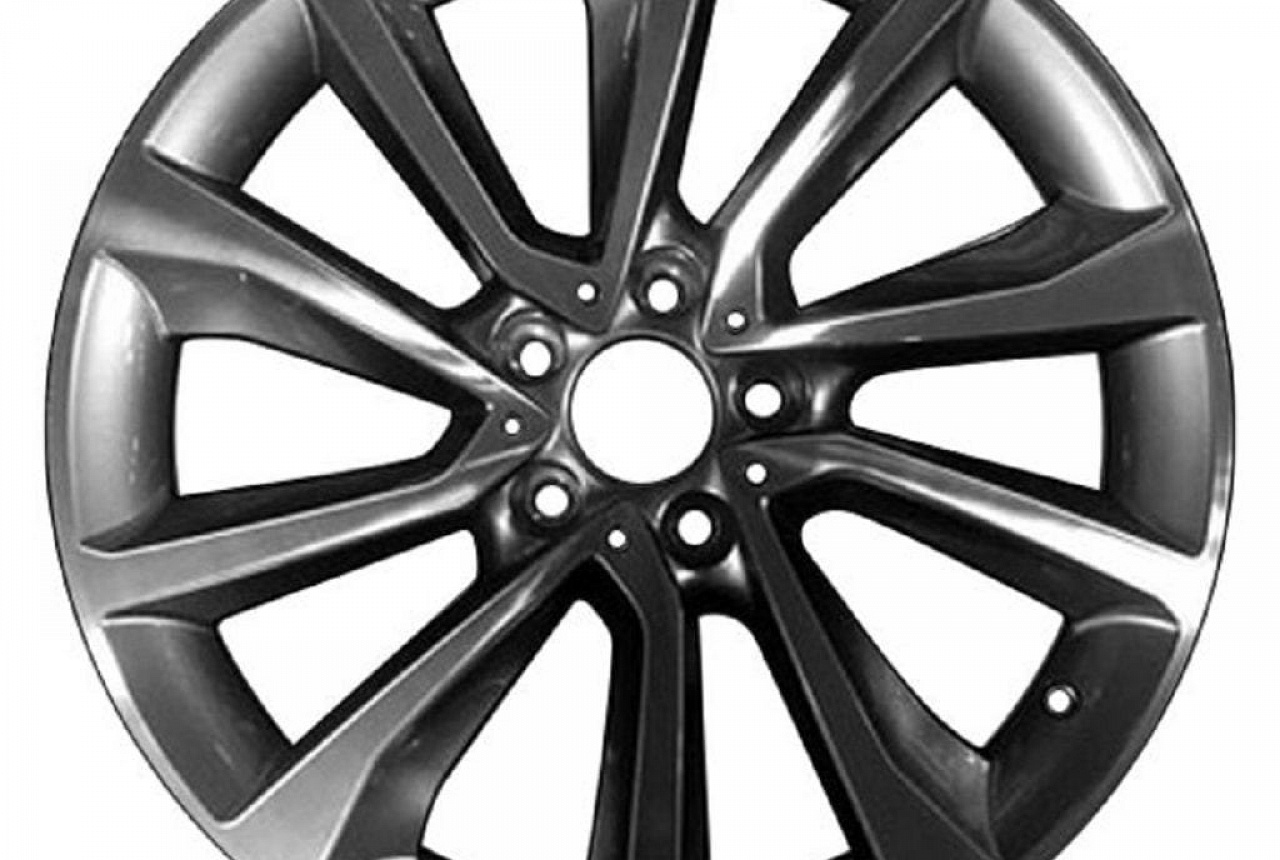 Легкосплавный колесный диск (V-образные спицы) 595 для BMW X6 F16 (код 36116858875)