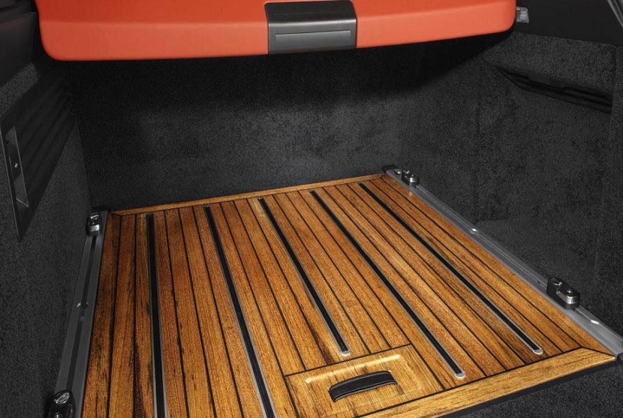 Деревянное покрытие для багажного отделения
