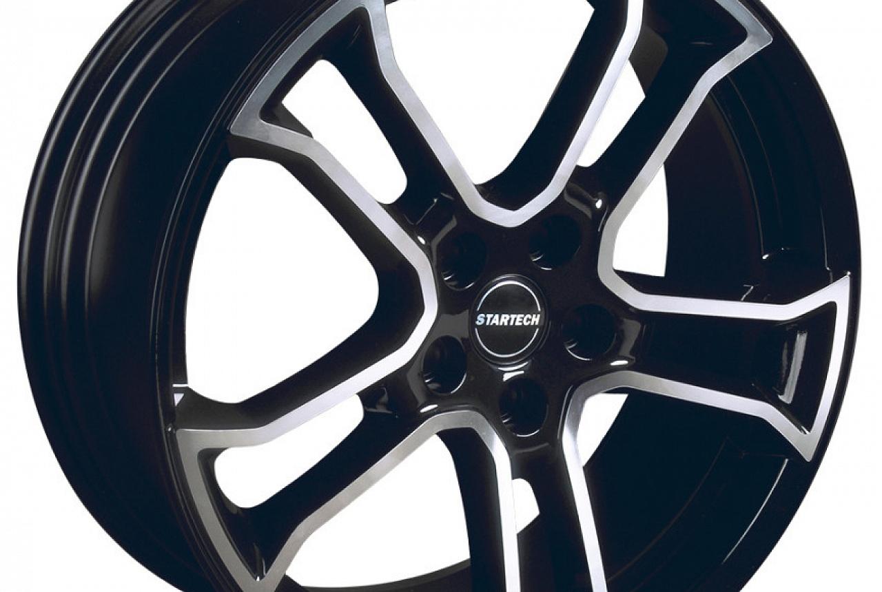 Комплект дисков MONOSTAR R - Black/Silver