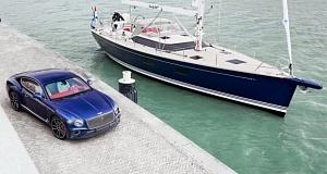 Уникальный в своем роде автомобиль Bentley Continental GT породнился с яхтой