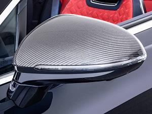 Карбоновые накладки на зеркала Startech для Bentley Continental GT/GTC 2018-