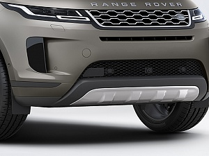 Передний элемент защиты нижней части кузова из нержавеющей стали для Range Rover Evoque