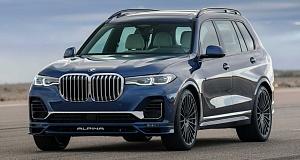 Баварское ателье Alpina представило свой вариант машины BMW X7