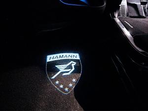 Иллюминация на двери Hamann для Bentley Flying Spur