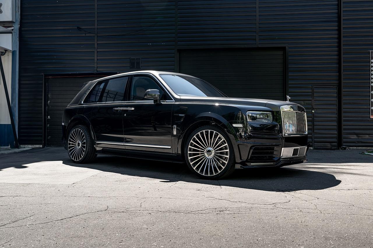 Обвес Mansory для Rolls Royce Cullinan