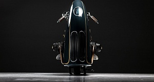 Встречайте совершенно нереальный мотоцикл – BMW R100 в стиле стимпанк