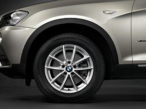 Легкосплавное дисковое колесо (V-образные спицы) 304 для BMW X4 F26