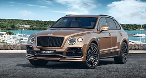 Обвес Startech для Bentley Bentayga 2016-