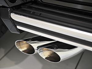 Выхлопная система с регулировкой уровня звука BRABUS для Mercedes G-class W464 (W463 A)  (для G63)