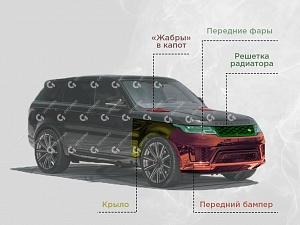 Рестайлинг Range Rover Sport 2019