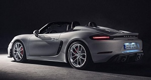 Экстремальные автомобили 718 Cayman и 718 Boxster от компании Porsche будут оснащены роботом
