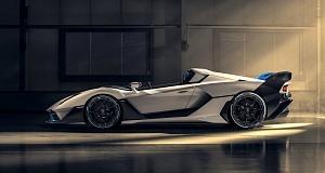 Cпидстер SC20 –  встречайте новый «крышесносный» автомобиль Lamborghini!