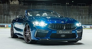 Знаменитое тюнинг-ателье G-Power представило новейшую 820-сильную версию автомобиля BMW M8