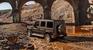 Интересные подробности о новейшем электрическом автомобиле Мерседес «Гелендваген»