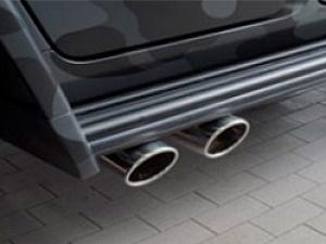 Спортивная выхлопная система (с регулировкой уровня звука) Mansory для Mercedes G W464