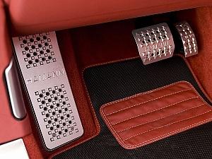 Комплект накладок на педали Hamann для Bentley Continental GT & Continental GT Speed