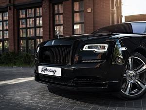 Rolls Royce Wraith Restyling black