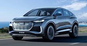 Культовый автомобиль Audi Q4 e-tron предстал в новом кузове-купе