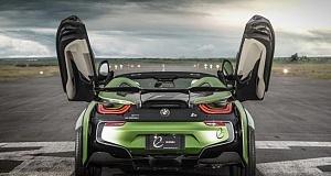 Необычный BMW i8 Roadster от E.N.ARMY Edition