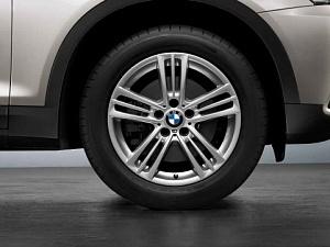 Легкосплавный колесный диск (звездообразные спицы) 368 для BMW X4 F26