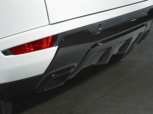 Левая насадка на выхлопную трубу Autobiography для Range Rover Evoque