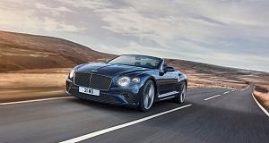 В апреле был представлен наиболее мощный автомобиль Bentley-кабриолет