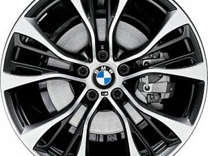 Легкосплавный колесный диск (сдвоенные спицы) 599M для BMW X4 F26