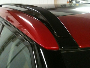 Продольные рейлинги (Black) для Range Rover Evoque