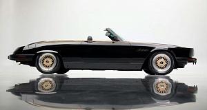 На аукцион был выставлен автомобиль Mercedes SL 1981 года выпуска с очень нестандартным кузовом