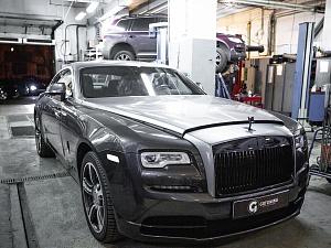 Rolls Royce Wraith Restyling silwer