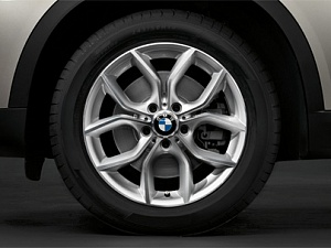 Легкосплавное дисковое колесо (Y-образные спицы) 308 для BMW X4 F26