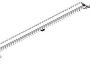 Направляющая заднего кронштейна PRO & PRO 2.0 для BMW X3 M F97