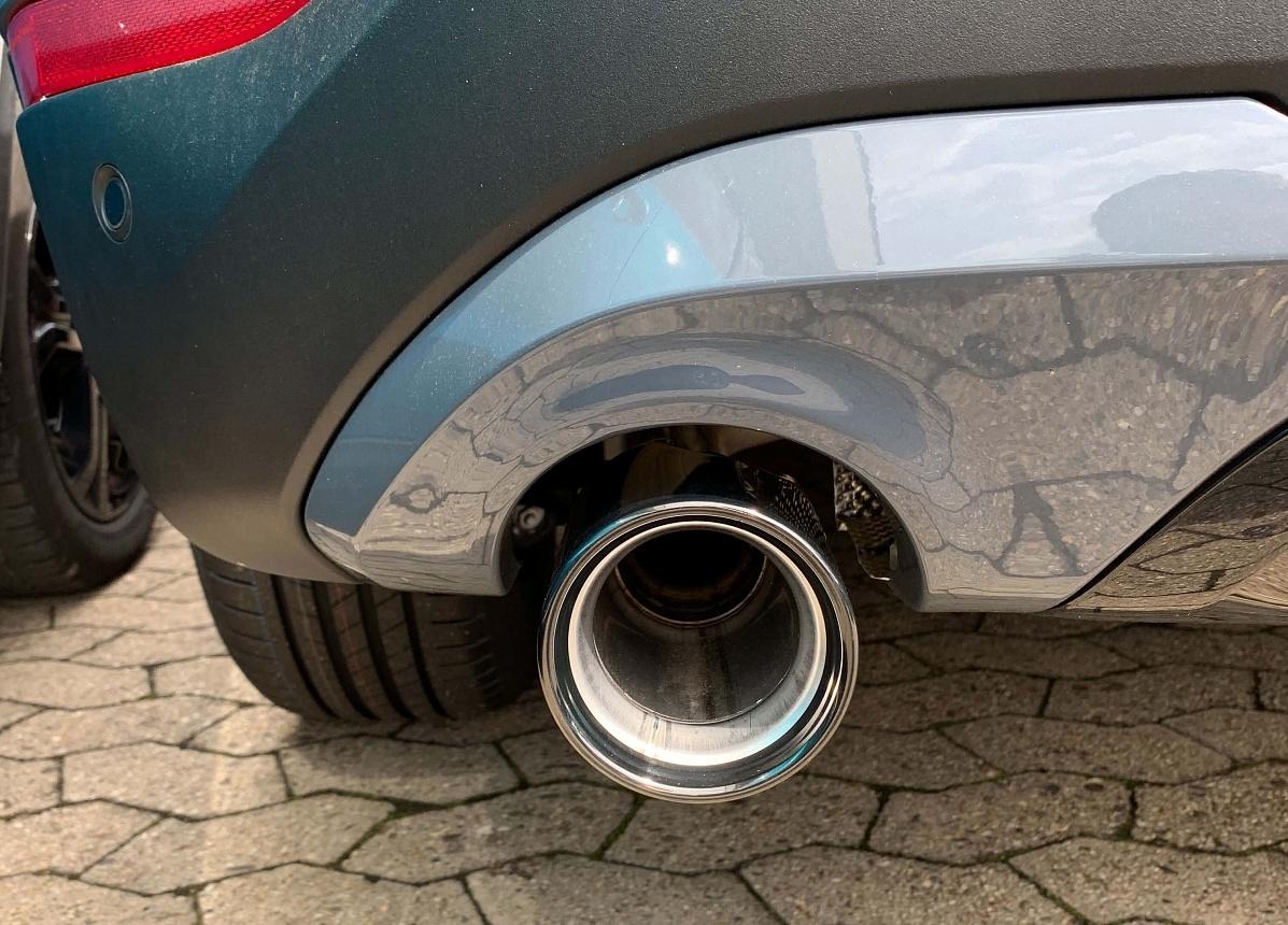 Насадка на выпускную трубу (хромированная) для BMW 1 Series F40