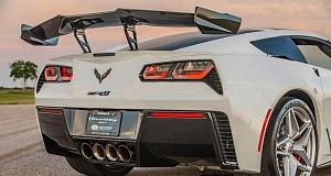В ателье Hennessey представили доработанный Corvette ZR1