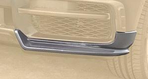 Спойлер переднего бампера (боковые части, карбон) Mansory для Rolls-Royce Cullinan